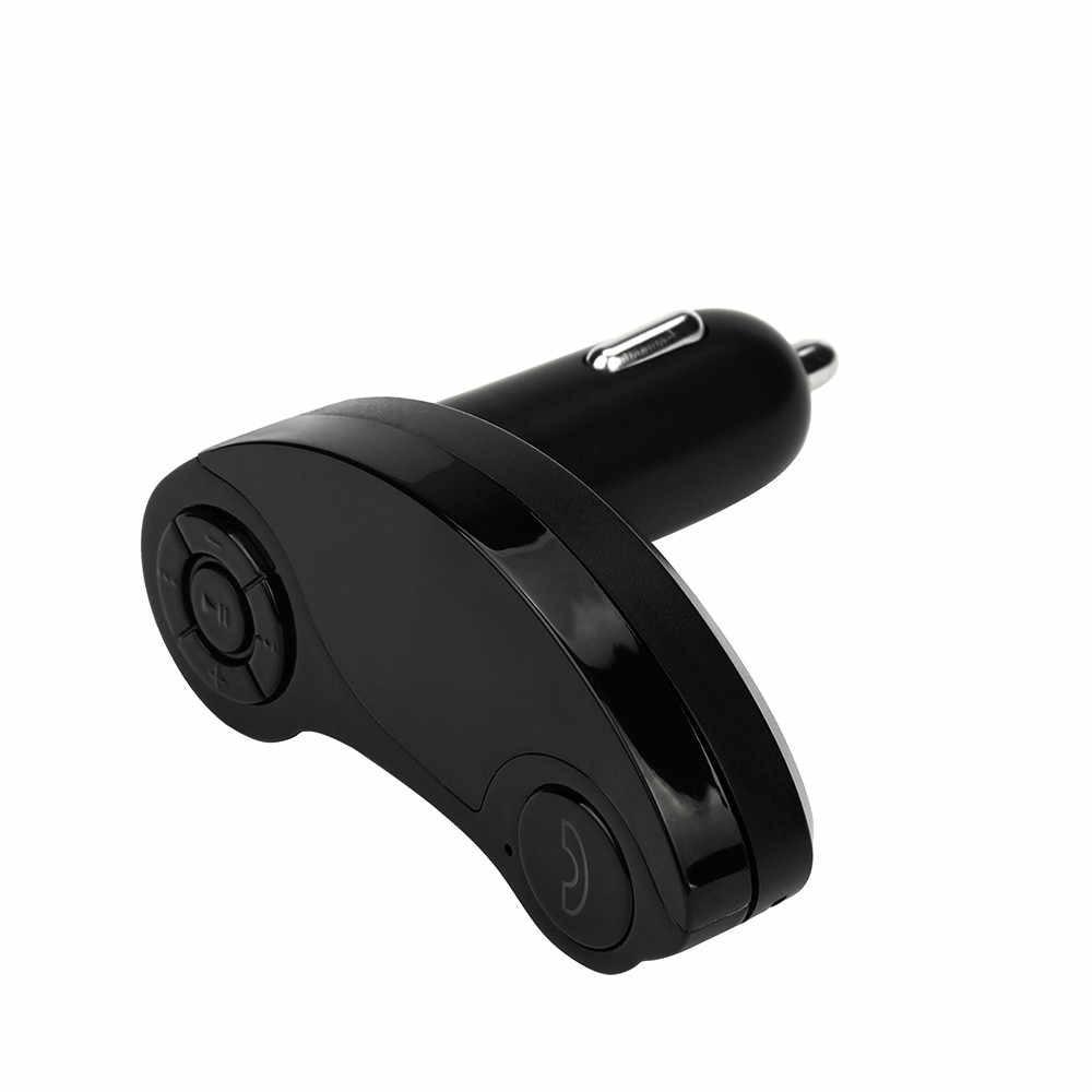 Manos Libres transmisor inalámbrico de FM RECEPTOR DE Bluetooth 3,5mm TF coche Mp3 jugador AUX Kit para Xiaomi Roidmi teléfono inteligente Samsung KIA