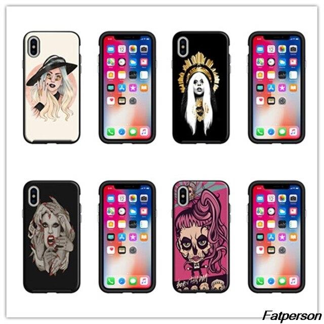 coque iphone 8 lady gaga