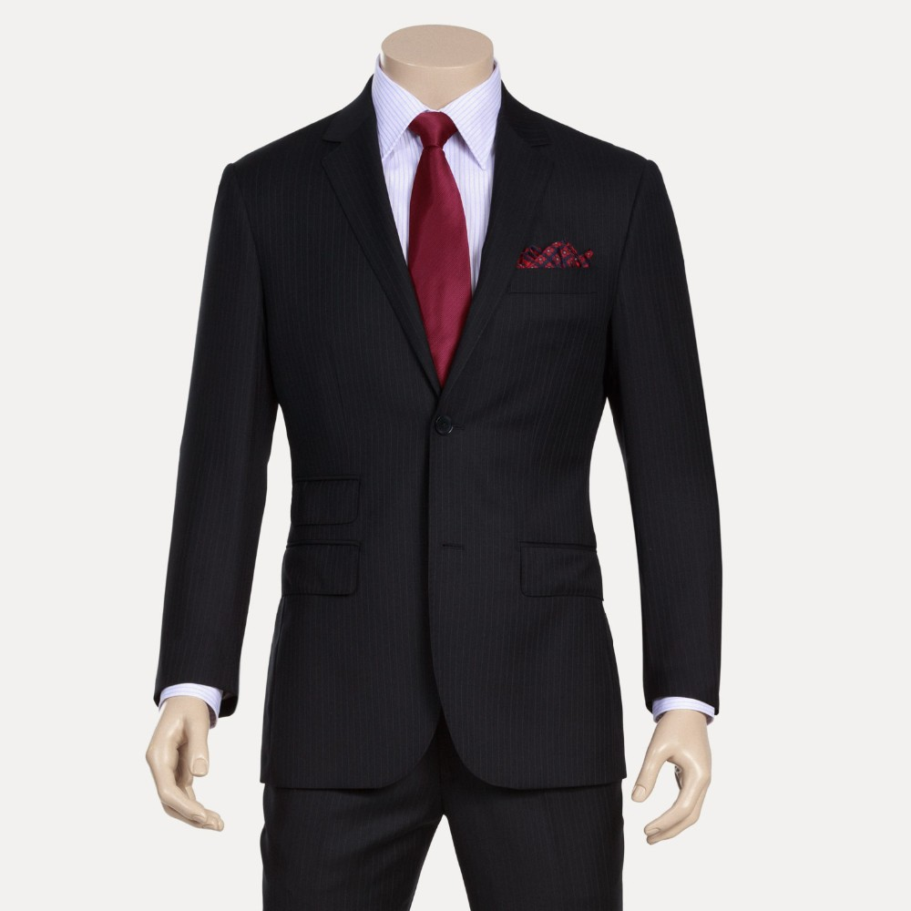 Mens jacket button side