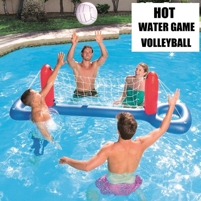 Unisexe Chaude Volley-Ball de L'eau Accessoires De Piscine Gonflable Flotteur Air Matelas D'eau Jeu Jouer jouets pour enfant Boule De Plaisir De L'eau