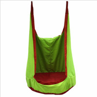 Kids Pod Swing Children's Bag Swings Chair Sleeping Bag Hammock SeatIndoor Outdoor Playground Inflatable Cushion Chair