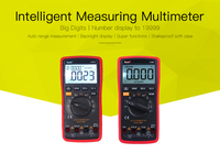 Professional high precision automatic measurement digital multimeter portable true RMS digital capacitor temperature measurement