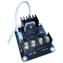 Модуль расширения MOSFET для 3d принтера, 2-контактный свинцовый модуль Anet A8 A6 A2, совместимый черный