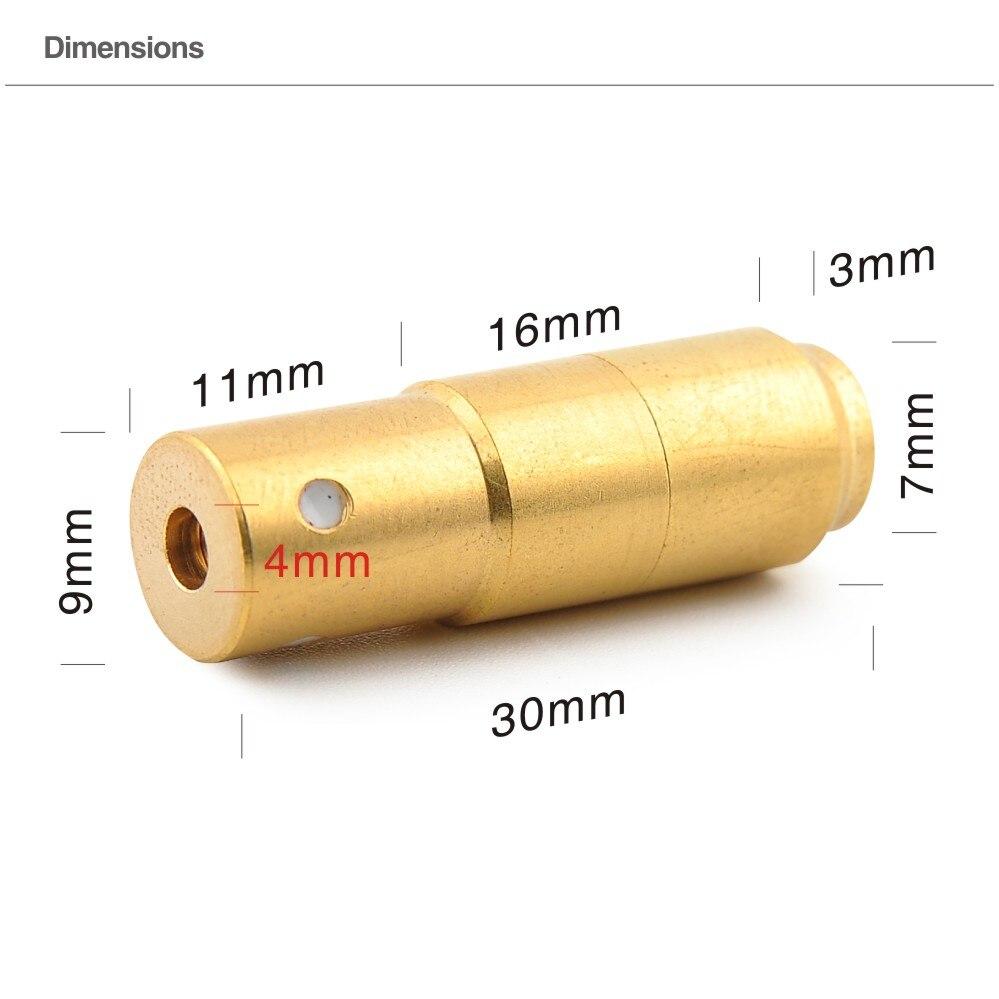 Prix pour 9 MM (Impulsion Lumineuse 70 MS) Laser Munitions, Laser Bullet, Laser Cartouche pour Sec Feu Formation et Tir Simulation