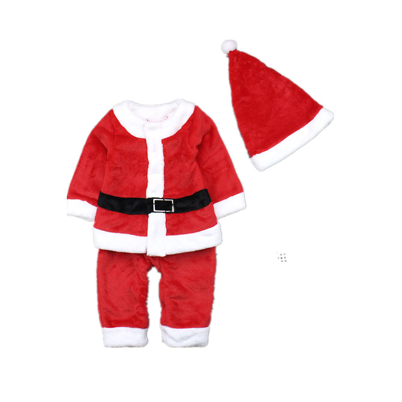 Children Clothing Set Baby Boys and Girls Christmas Santa Claus Suit and Dress Toddler Clothes Infant Christmas Costumes inflatable cartoon customized advertising giant christmas inflatable santa claus for christmas outdoor decoration