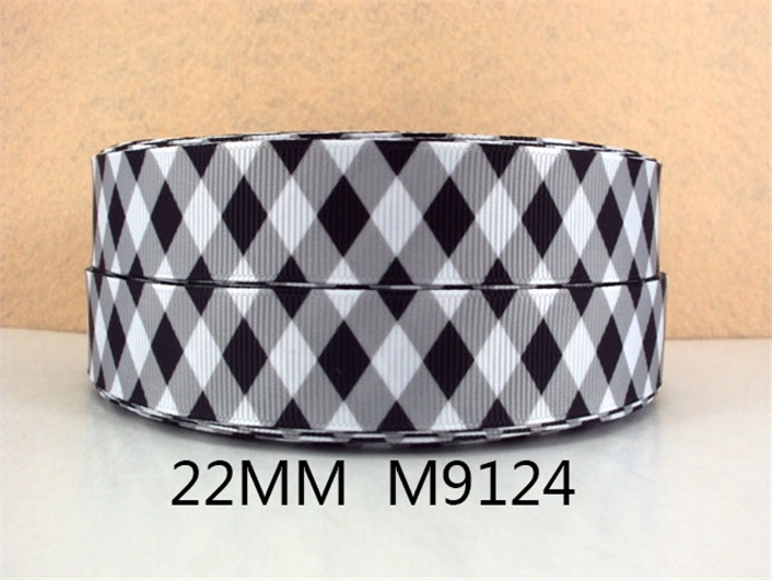 (5yds в рулоне) 5Y9124 Лента David 7/8 «печатные ленты Grosgrain лента упаковка свадебные для упаковки подарков DIY