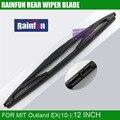 """Rainfun dedicado lâmina de limpador traseiro para mitsubishi outland ex (10), 12 """"lâmina de limpador traseiro para Outland MIT EX"""