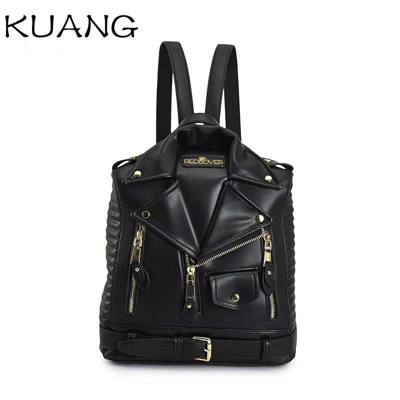 Half Ripe Coconut Pu Leather Backpack Leather Women Backpack Drawstring Waterproof Girl Backpack Leather Daily Shoulder Bag For Women
