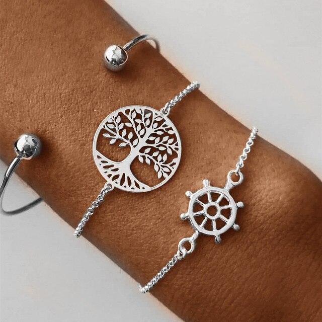 Bracelet Lotus Arbre De Vie