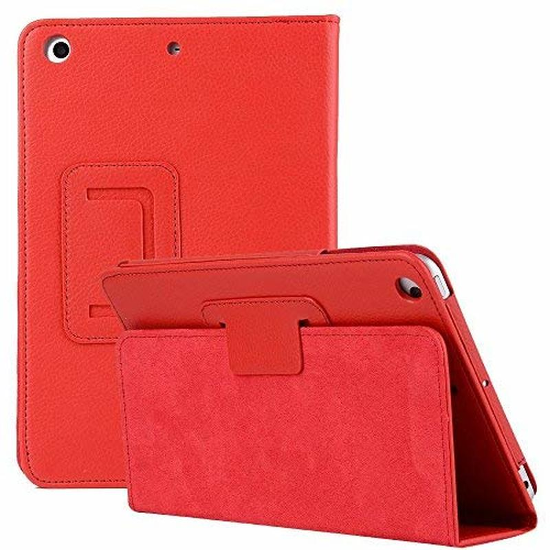 Stand Holder Folio Case For IPad Mini Ultra Slim Cover Flip PU Leather For IPad Mini 2 Case Auto Sleep /Wake Litchi Cover Mini12