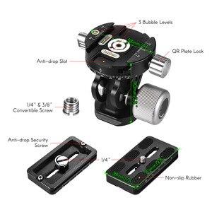 Image 4 - Andoer VH 10 2 Wayหัวขาตั้งกล้องดูนกPan/เอียงPanoramicหัวหน้าw/ที่วางจำหน่ายจานด่วนเปลี่ยนสำหรับSirui L10 RRS MH 02
