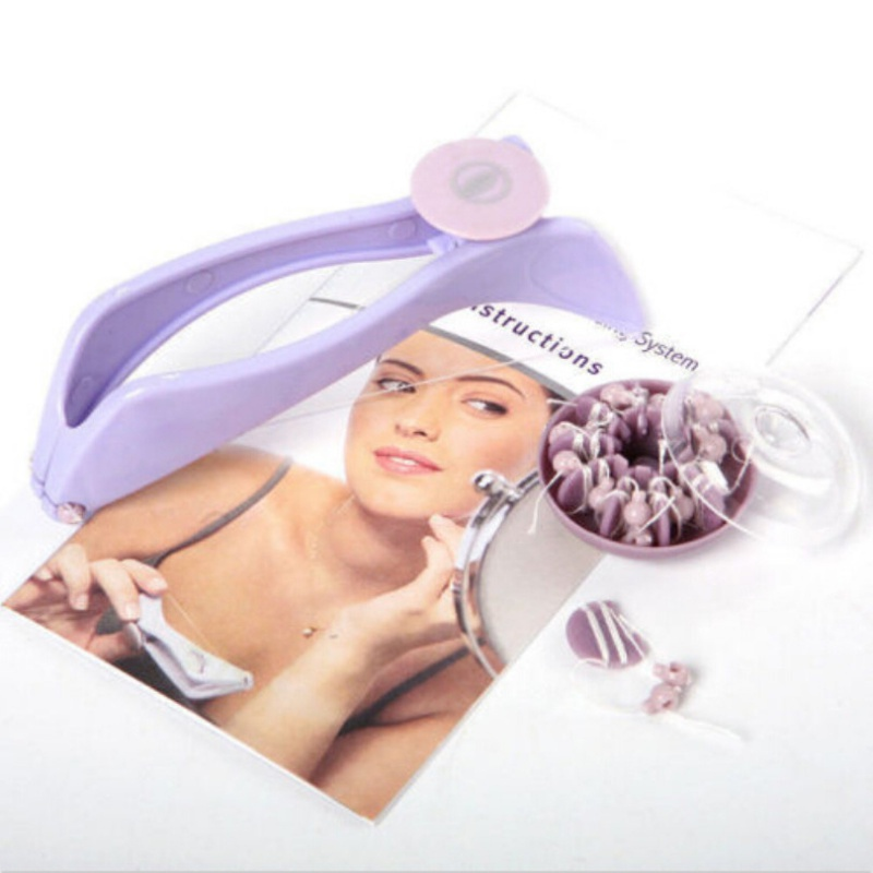 Makeup Beauty Facial Neck Hair Removal Tools New Body Hair Epilator Threader System ...
