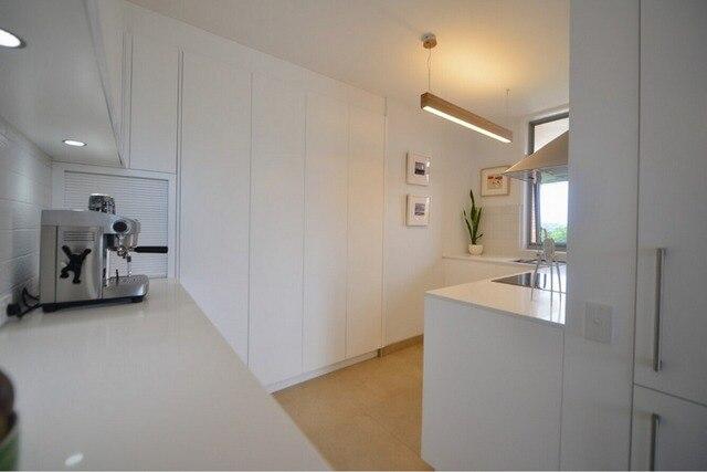 Moderne Hoogglans Keuken : Hot sales pac keukenkasten witte kleur moderne hoogglans lak
