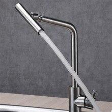 Jmkws Кухня кран НЛО раковины воды mixertaps вращающийся электрический смесители на бортике гибкие Кухня коснитесь Аксессуары для ванной комнаты