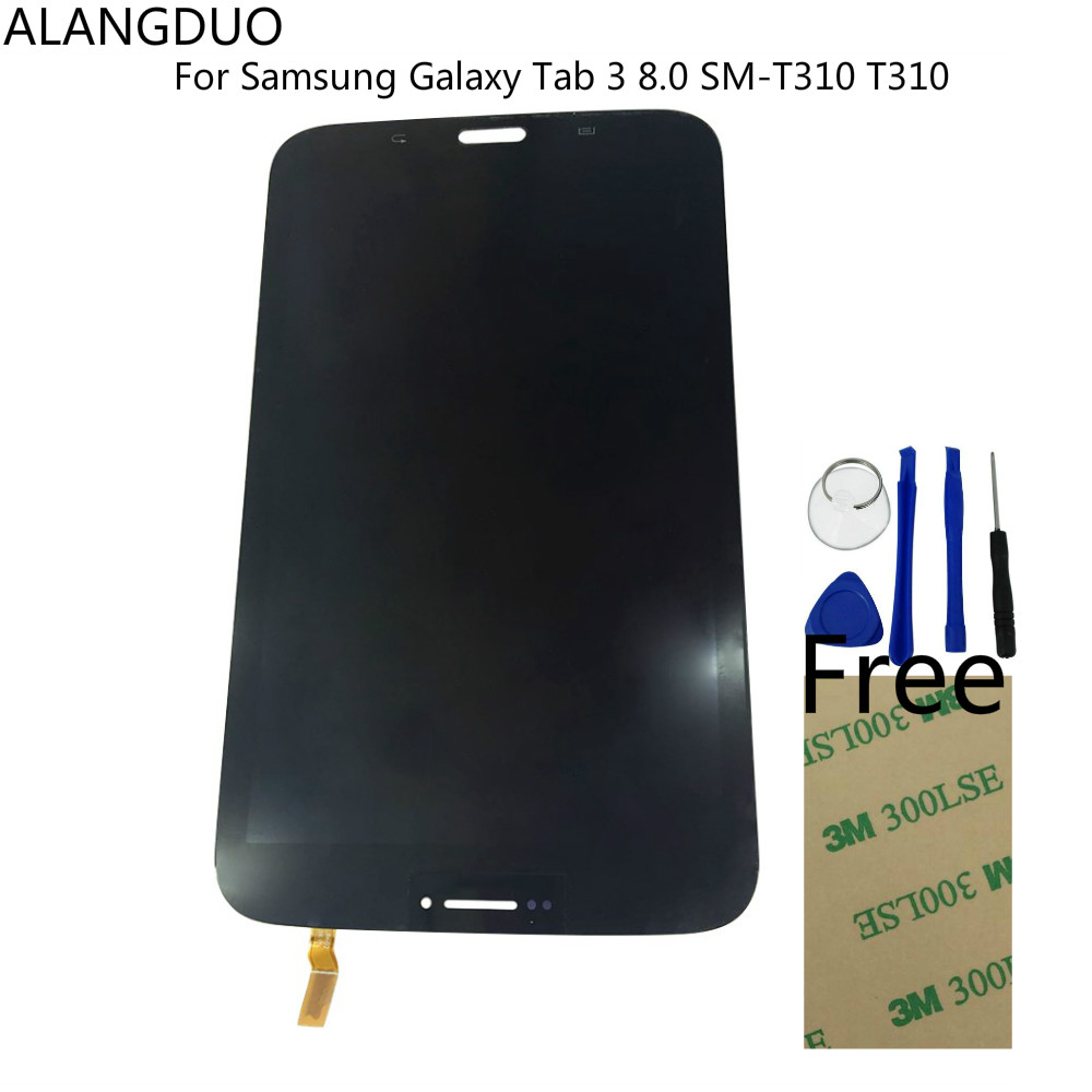 Genuine original samsung galaxy tab 3 8 0 original oem - Alangduo New Lcd Screen For Samsung Galaxy Tab 3 8 0 Sm T310 T310 Tablet Lcd