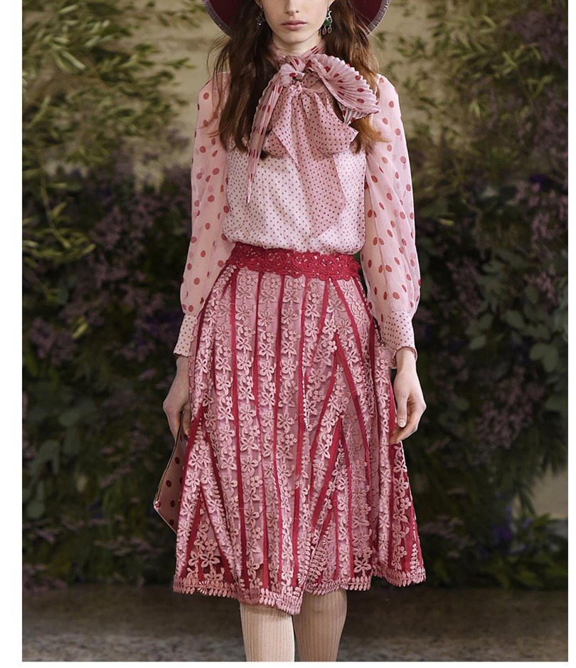 Прозрачный оранжевый комплект с кружевной юбкой ручной работы, милый комплект из двух предметов для девочек, летний розовый шифоновый топ и