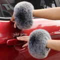 Fox fur Cuffs  2016 Hot Sale Wrist Warmer Genuine Fox Fur Cuff  Arm Warmer Lady Bracelet Real Fur Wristband Glove