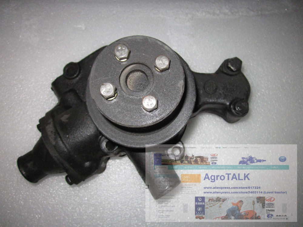 Fengshou Lenar 254II, MFS254 284,water pump (thermostat included) with extra stand-by seal and O ring for NJ385, IL316DI-DAF yanmar parts the water pump thermostat type with reference 4tne88