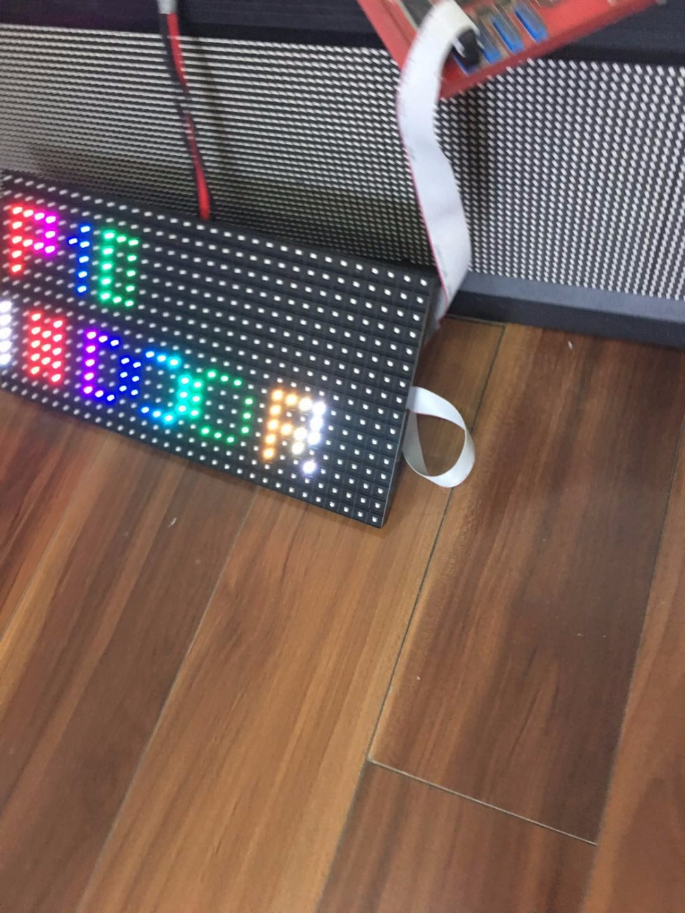 free shipping kaler Indoor 320*160mm 32*16pixels SMD 1/8s RGB P10 full color LED module screen for Advertising pictures video