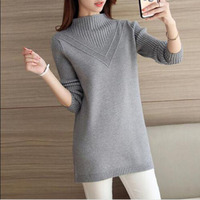 2018 Women S Wool Cashmere Sweater Female Plus Pink Warm Sweaters Autumn And Winter Fashion Knitting