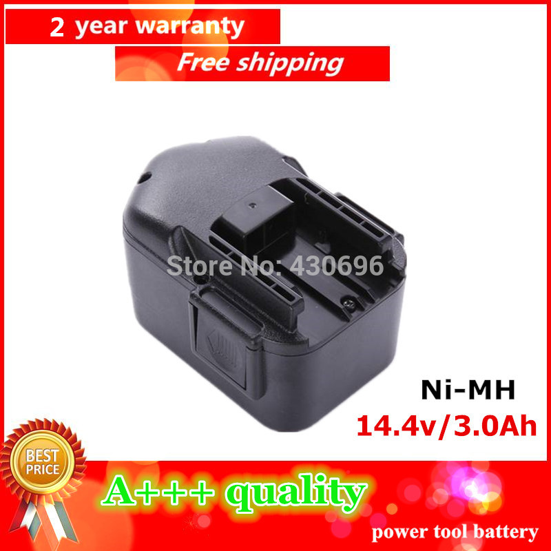 New 14.4V 3.0Ah Ni-MH Replacement Power Tool Battery for Milwaukee 48-11-1000, 48-11-1014, 48-11-1024
