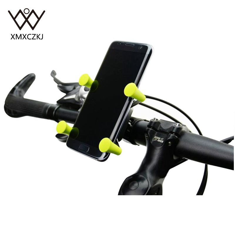 Bike Motorcycle Cell Phone Mount Holder For Smartphone & GPS Universal Mountain & Road Bicycle Motorcycle Handlebar Cradle pochette étanche pour téléphone