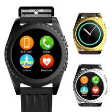Männer smart watch gs3 uhr fitness tracker herzfrequenz armbanduhr schrittzähler bluetooth smartwatch für ios android huawei xiaomi kind