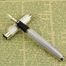 Classic Jinhao 1200 Complete Roller Ball Pen Dragon Clip luxury jinhao roller ball pen hollow steel golden dragon and phoenix married couple gift
