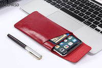 Ultra Thin Bag Super Slim Vintage Microfiber Leather Case Stitch Sleeve Pouch Cover For UMI London