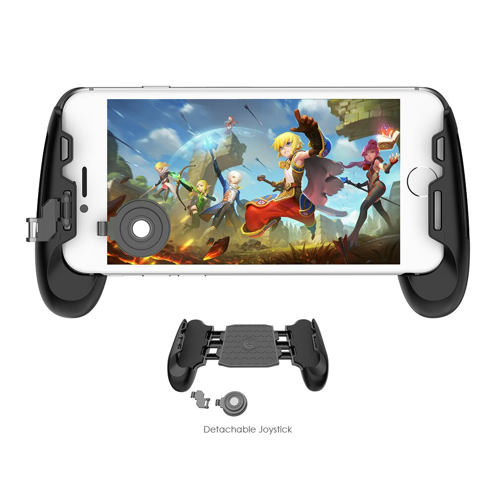 GameSir F1 MOBA controlador para Android y iPhone móvil leyendas/Vainglory etc. Gamepad agarre se mango