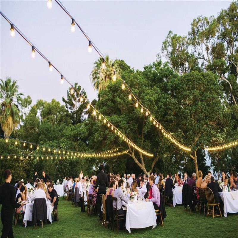 Здесь продается  2017 hot sale PVC material daisy elecltric garden party string light with edison bulbs for wedding event 48ft 15 sockets   Свет и освещение