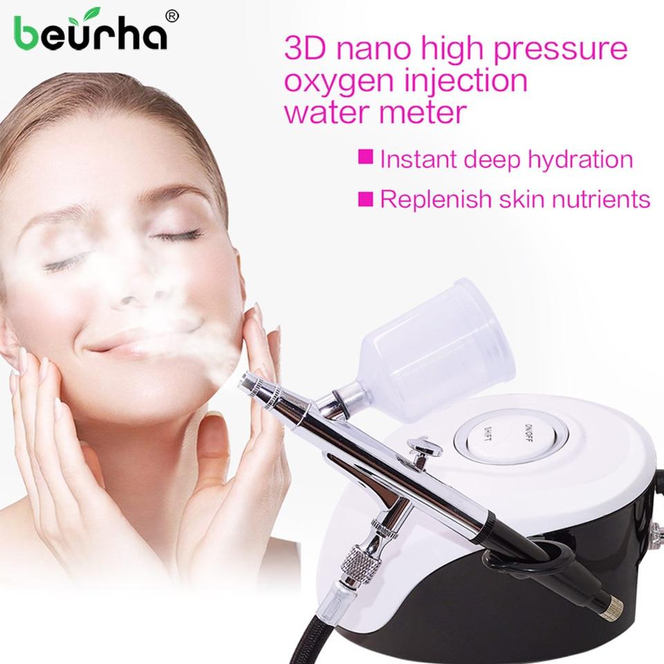 Facial Skin SPA Micro nano Moisturizing Oxygen Sprayer Machine Anti Wrinkle Skin Rejuvenation Water Sprayer Salon