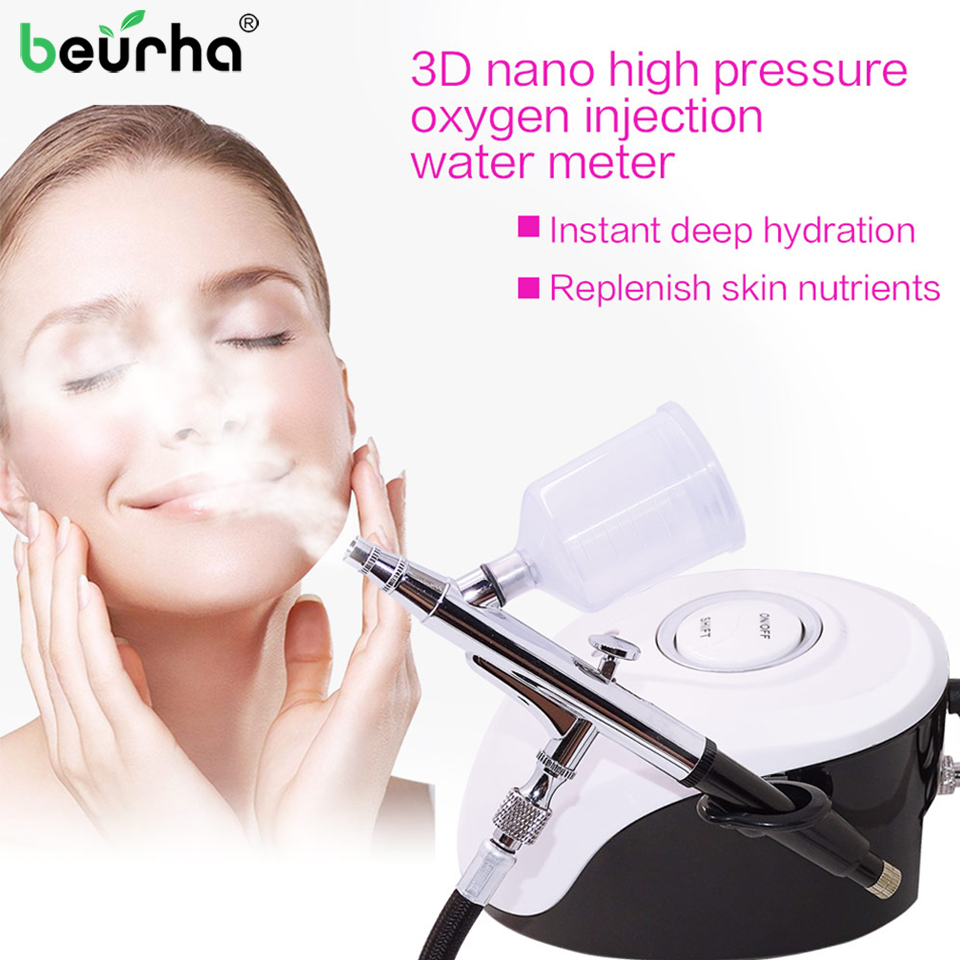 Skóry twarzy SPA mikro nano nawilżający opryskiwacz tlenowy maszyna Anti zmarszczek odmładzanie skóry opryskiwacz wody Salon urządzenia kosmetyczne w Masaż i relaks od Uroda i zdrowie na AliExpress - 11.11_Double 11Singles' Day 1