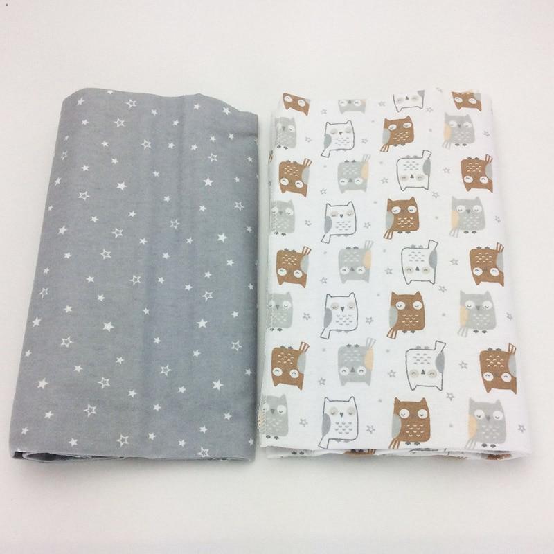 2 pcs/pack sheet baby 102 x 76cm 100% cotton newborn Baby bed sheet Elephant printing crib sheet baby bedding set sof