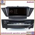 HD 1024*600 Android Reproductor de DVD Del Coche Para BMW X1 E84 (2009-13) con la Navegación 3G Wifi GPS Bluetooth Agenda RDS mapa incorporado