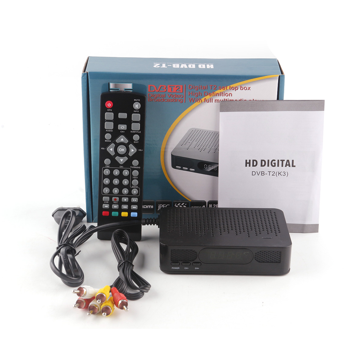 K3 DVB T2 Satellite font b Receiver b font HD Digital DVB T font b TV