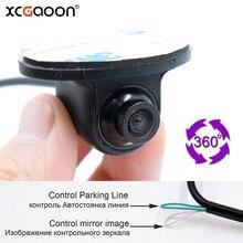 XCGaoon Mini CCD Coms HD Night Vision 360 Degree Car Rear View Camera F