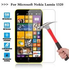 (Tairuixing) защитная пленка 0.3 мм 9 h 25d передняя премиум закаленное стекло для nokia microsoft lumia 1320 n1320 крышка