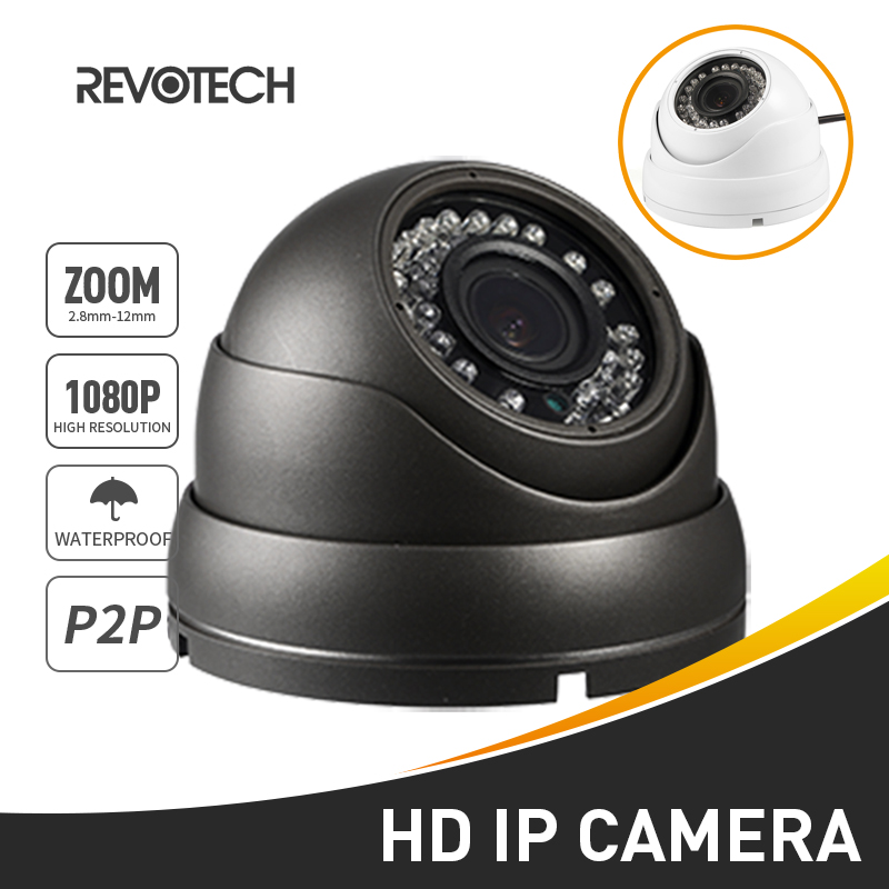 Waterproof 1080P Auto 4X 2 8 12mm Motorized Zoom IP Camera 2 0MP 36 LED Outdoor