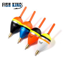 REI PEIXE Bóia De Pesca 5 pçs/lote tamanho Mix comprimento 80 Barguzinsky Fir Bóia de Cobre-85mm Peso 6.0g/8.5g/9.0g Para Pesca
