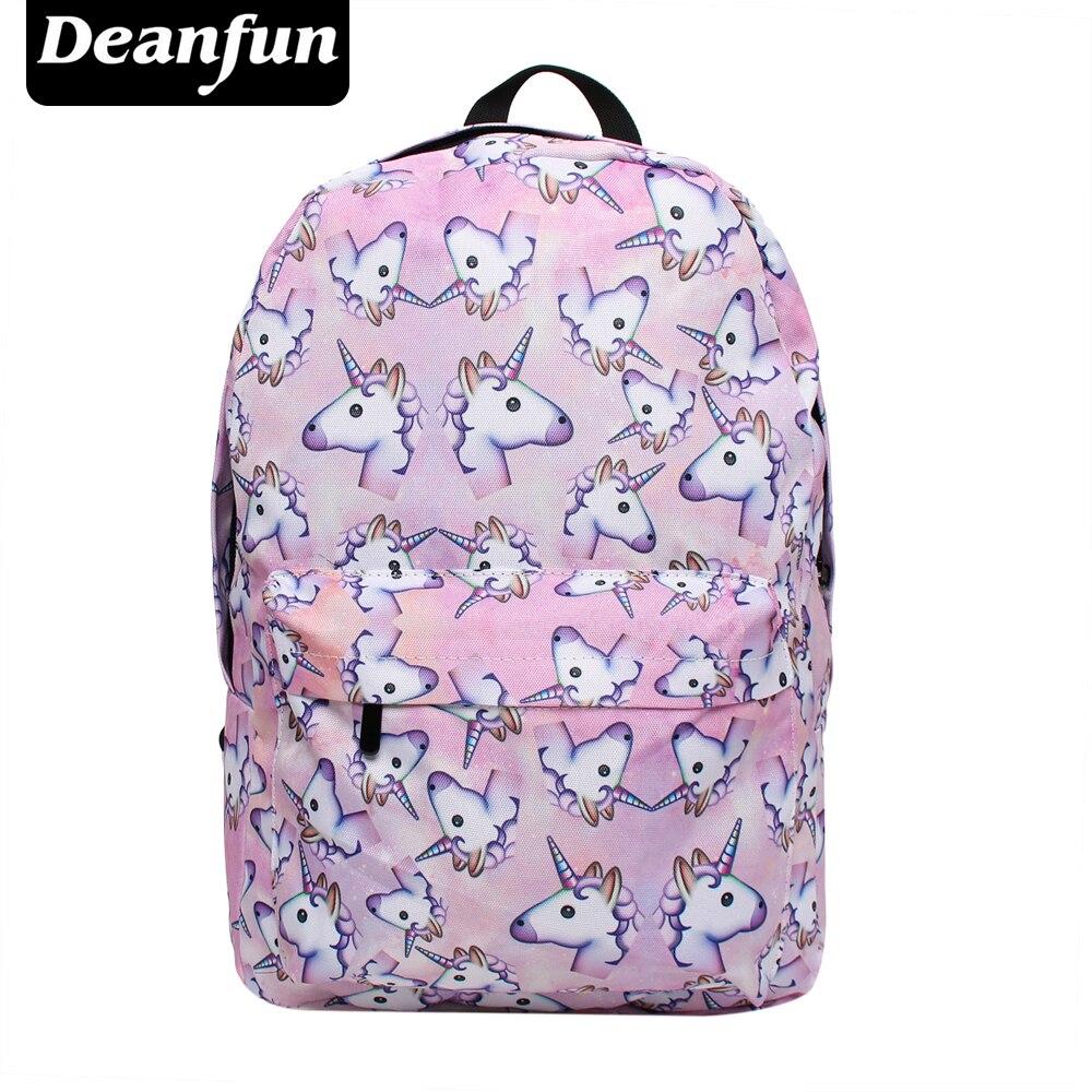 Women, Unicorn, Schoolbags, Deanfun, Girls, With