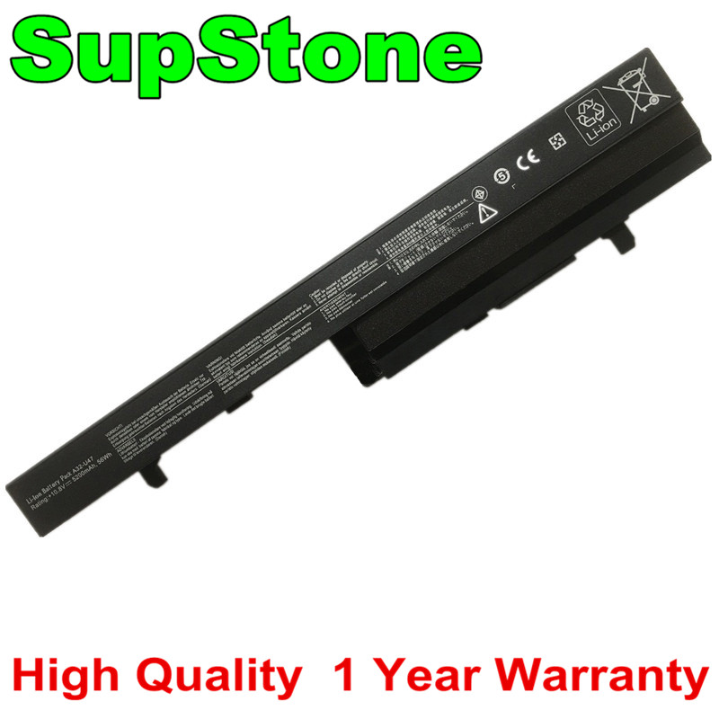 SupStone New 5200mAh A32-U47 Laptop Battery For Asus U47 U47A A41-U47 A42-U47 Q400 Q400A Q400C R404 U47C U47V U47VC Battery Free