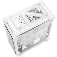 Blizzard Computer Case Chassis for Desktop With Acrylic Transparent Colorful Box ATX Computer Box Simple Gaming Tower