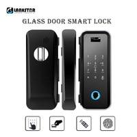 Wood Doors Glass Door Smart Lock RFID IC Card Password Remote Semiconductor Fingerprint Automatic Locked Wake Intelligent Locks
