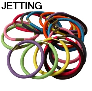 New 2014 Fashion 10 Pcs Women Elastic Hair Bands Casual Multi-color Women Headwears High Quality Elastic Hair Bands For Women