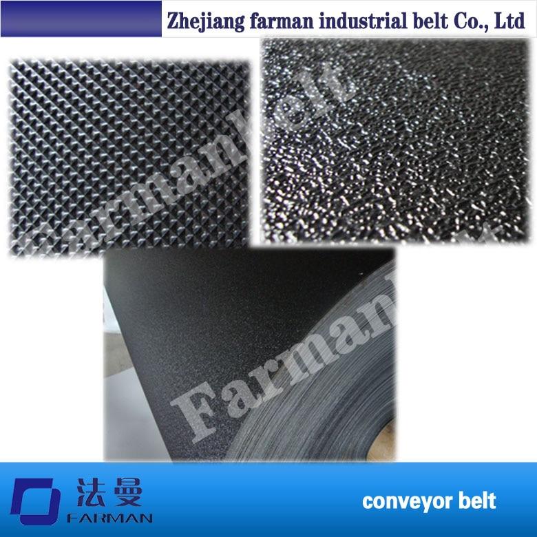 1.2mm,1.4mm black golf pattern treadmill pvc conveyor belt golf pattern fitness treadmill pvc conveyor belt