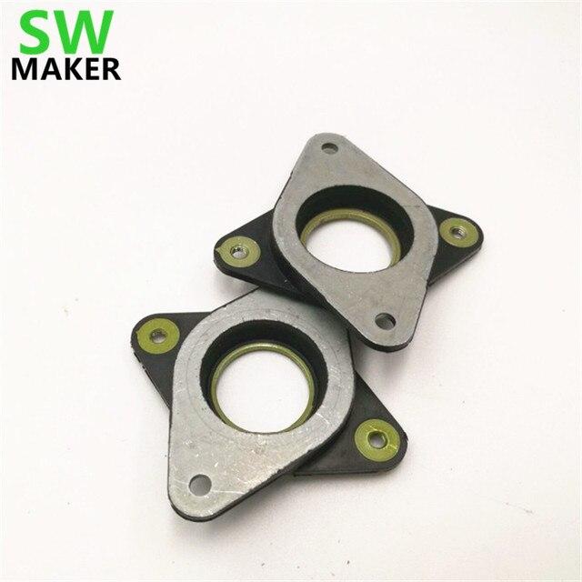 SWMAKER шт. 1 шт. резиновые антивибрационные амортизаторы металлическая прокладка для Nema 17 шаговый двигатель