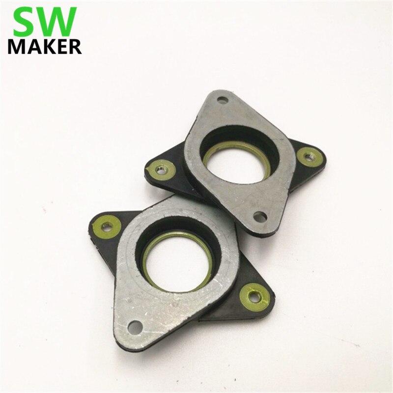 SWMAKER 1pcs Rubber Anti-Vibration Dampers Metal Gasket For Nema 17 Stepper Motor