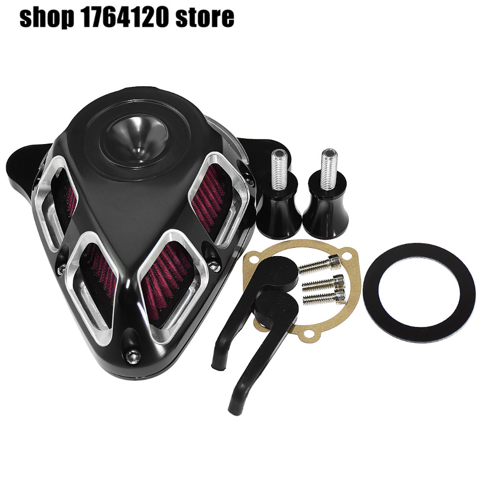Motorcycle Multi-Angle Air Cleaner Filter For Harley Softail 2000-2014 2015 Touring 2000-2006 2007 Dyna 2000-2016 2017