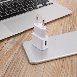 Image 2 - 5 V 2.1A USB شاحن آيفون X 8 7 6 باد سريع جدار شاحن الاتحاد الأوروبي محول 5 V 1A لسامسونج s9 شياو mi mi الهاتف المحمول شاحن